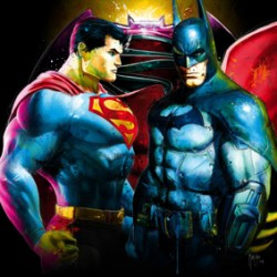 Superman Vs Batman By Murciano