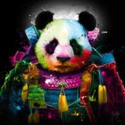 Panda Samourai By Murciano