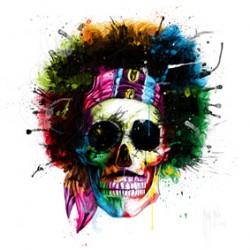 Hendrix Skull By Murciano