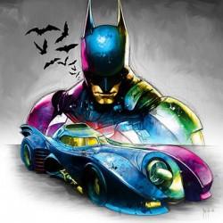 Batmobile By Murciano