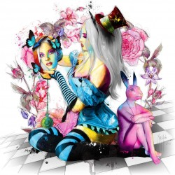 Alice In Wonderland By Murciano